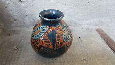 Ancien Vase polylobé Art déco poterie de Savoie signée pottery Pitcher jug