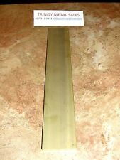 "1/4"" X 2"" X 12"" Brass Flat Bar C360 Rated Seller Best Price Discounted Item!"