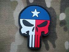 SEAL TEAM 3 TEXAS PUNISHER skull VELCR0 pvc PATCH BADGE nsw devgru lone survivor