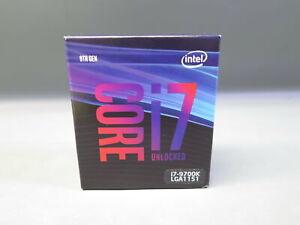 Intel i7-9700K LGA1151 9th Gen 3.6GHz 12MB CPU Computer Processor NIOB