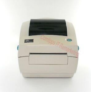Etikettendrucker Zebra LP 2844 Thermo mit Abreisskante