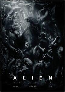 Alien Covenant Movie Large Poster Art Print A0 A1 A2 A3 A4 Maxi