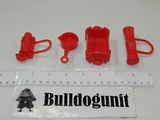 2004 Buckaroo Game Replacement All 4 Red Pieces Parts Only