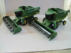 John Deere Farm Toy Tractors/Combines 9600 & 9500 1/20 Ertl