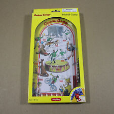Curious George Monkey Handheld Pinball Game Toy Retro Circus