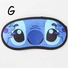 stitch cute anime Travel eyepatch sleep mask Blindfold eyemask eyeshade new