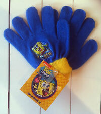 Handschuhe Spongebob Fingerhandschuhe Nickelodeon ca. 4-8 Jahre 100% Acryl