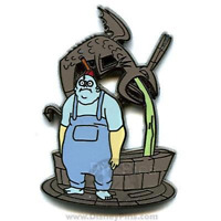 Disney Pin 49902 Nightmare Before Christmas Mystery Tin Behemoth NBC Water Well