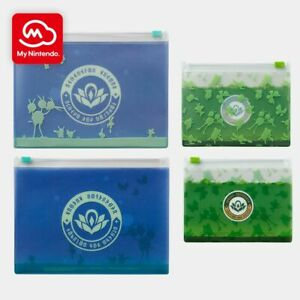 New Pokemon Snap Clear Zipper Case Set-My Nintendo Official Reward-Ziploc Pouch