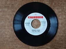 1980 PROMO MINT-EXC+Johnny Cash  ‎– The Last Time 11399 45