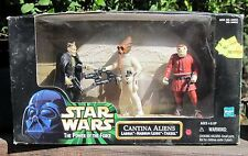 1998 Hasbro Star Wars I Power of the Force 3 Figures Cantina Aliens  MIB