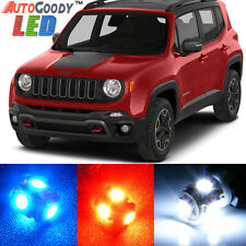 13 x Premium Xenon White LED Lights Interior Package Upgrade for Jeep Renegade