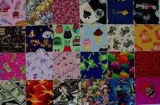 40 4-inch I SPY Quilt Fabric Squares-Novelty-