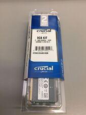 Crucial 8gb Kit (2 x 4gb) DDR3L-1600 UDIMM Desktop Memory Ram