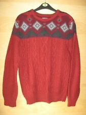River Island Men's Chunky, Cable Knit Knit Crew Neck Jumpers & Cardigans