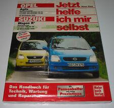 Reparaturanleitung Opel Agila 12V 16V + Suzuki Wagon R+ 16V 76 PS ab 2000 NEU!