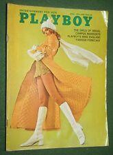 Playboy April 1970 POM Barbara Hillary Aviva Paz Dr. Mary Calderone interview
