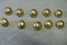 39/45: Lot de 10  BOUTONS TRANSMISSIONS 25 mm  FRENCH SIGNAL CORPS BUTTONS WW2