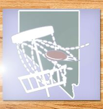 "6"" Nevada Disc Golf Vinyl Decal"
