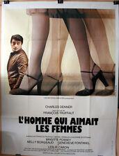 F Truffaut : L'Homme Qui Aimait Les Femmes : POSTER