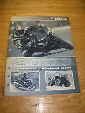 2003 Yamaha Motorcycle & Atv Technical Update Manual