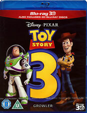 TOY STORY 3 - BLU-RAY 3D - WALT DISNEY PIXAR FILM ANIMATED CHILDREN FAMILY MOVIE