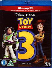 TOY STORY 3 - BLU-RAY 3D - WALT DISNEY PIXAR FILM ANIMATED CHILDREN FAMILY MOVIE