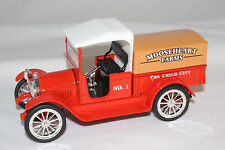 1916 Studebaker Pickup, Mooseheart Farms, SpecCast Metal Bank, Mint Boxed