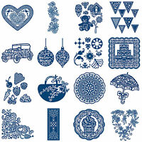 TOPPERS (ii) Tattered Lace Metal Dies Stephanie Weightman Craft Cut Card