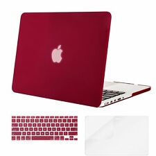 Mosiso Case for Macbook Pro 15 Retina 2013 2014 2015 w Silicone keyboard Cover