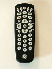 General Electric 24993 Universal Remote Black 4 Device 7252 Cl3 Tested 1352 Ge