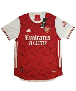 Adidas 2020 2021 ARSENAL Authentic Home Soccer Jersey Football Shirt FH7815 Sz M