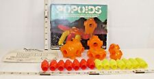 TOMY POPOIDS COSMIC CREATURES SPACE TOY PLAYSET BOXED 1970s NICE!