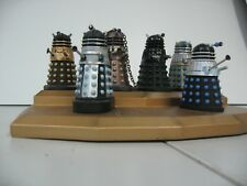Dr Who Eaglemoss Rare Daleks 1 - 6 With display plinth and magazines please read
