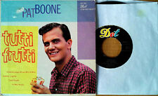 "PAT BOONE - TUTTI FRUTTI + 3  - DOT LABEL - 7""  EXTENDED PLAY"