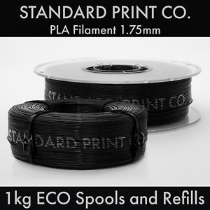 3D Printer Filament PLA Refillable ECO Spools 1.75mm 1KG - Standard Print Co.