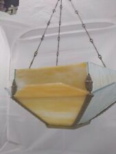 Art Deco Glass Ceiling Light