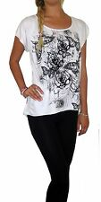 WOMENS LADIES T SHIRT BLOUSE OVERSIZED LOOSE MAY SUIT MATERNITY TOP UK 10 12 14