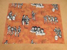 Beatles Memorabilia Curtains Vorhang N.V. Stoomweverij Nijverheid NL 1965