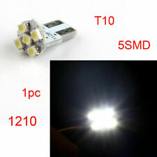 T10 1210 5SMD LED Truck License Plate Light Turn Signal Lamp White No Polarity