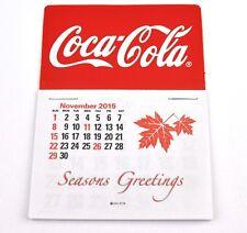 Coca Cola Coke USA Kalender 2016 Calendar - Logo rot