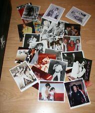 Elvis Presley Color B & W 8 x 10 inch photos  Lot of 25