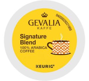 Gevalia Signature Blend Coffee K-Cups (select quantity)