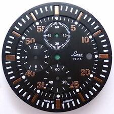 Esfera negra/rotgold-Ø 35,1mm para Miyota 0s10-watch Dial-nos
