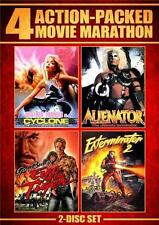 CYCLONE*ALIENATOR*EYE OF THE TIGER*EXTERMINATOR 2 Action B-Movie R1 DVD Set *NEW