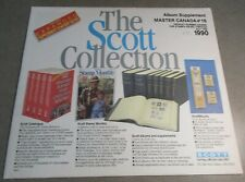 SCOTT MASTER CANADA #16 1990 SUPPLEMENT WITH FREE SHIPPING!!!