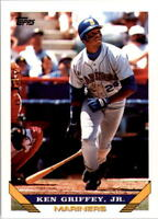 1993 TOPPS #179 KEN GRIFFEY JR SEATTLE MARINERS HALL OF FAME