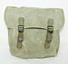 Vintage WWII 1944 Army Military OD Green Canvas Messenger Bag
