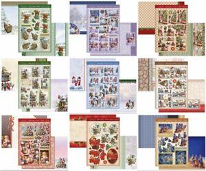 New Hunkydory Christmas Decoupage Card Kit P&P Discounts
