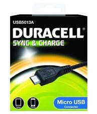 Duracell Synchronisation et De recharge câble pour Micro USB Dispositif Android